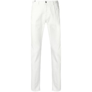 Notify classic slim-fit jeans - ホワイト