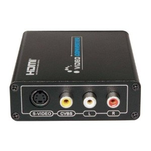 LKV381 HDMI to Composite/S-Video Converter / HDMI出力をS端子、コンポジット出力へ変換