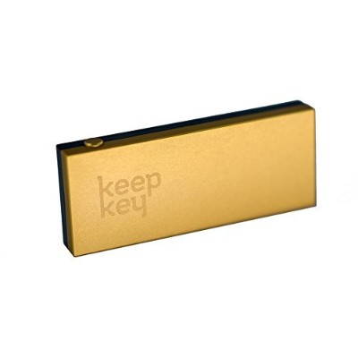 KeepKey: The Simple Bitcoin Hardware Wallet ビットコインウォレット - Limited Edition Gold