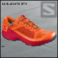 サロモン SalomonXA ELEVATE GTXSCARLET IBIS/BARBADOS CHERRY/BLACK
