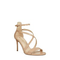 ナインウェスト レディース サンダル シューズ Nine West Retail Therapy Strappy Sandal (Women) Natural Leather
