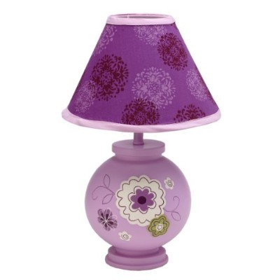 NoJo Lamp and Shade, Pretty In Purple by NoJo