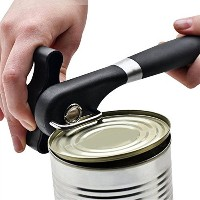 Can Opener、滑らかなエッジCan Opener、ステンレススチールCan Opener with Easy Turnノブ