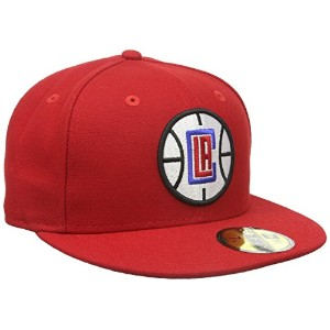 New Era 59FiftyチームクラシックLa Clippers Fittedキャップ カラー: レッド