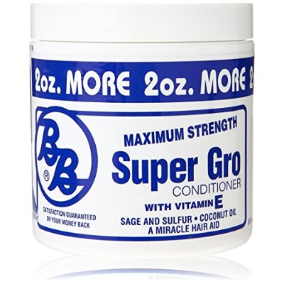 Bronner Brothers Super Gro Maximum Strength Conditioner Case by DDI