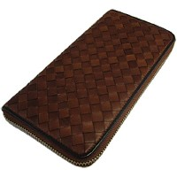 UPPER WEST 長財布 WOVEN WALLET BR UWT437 [正規代理店品]