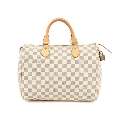 LOUIS VUITTON ルイヴィトン バッグ スピーディ30 ハンドバッグ ダミエ・アズール N41533 【438】【中古】【大黒屋】