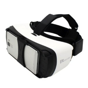 3D VRゴーグル VRヘッドセット 4.5-5.5インチ スマホ用 Bluetooth内臓 Siri対応 Crelander Virtual Reality Headset, Bluetooth...