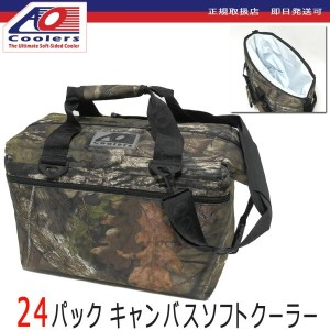 AOクーラーズ AO coolers 【送料無料 即日発送可】24パック キャンバスソフトクーラー モッシーオーク 24pac canvas soft cooler 【正規取扱店 約23リットル...