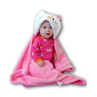 Plush Baby Blanket for Boy or Girl. Super-Soft Microfiber Fleece in Animal Designs. ?Fab Baby Gifts...