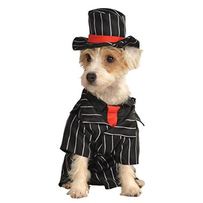 Rubie's Pet Costume, Small, Gangster by Rubie's