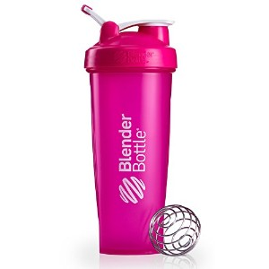 BlenderBottle Classic Loop Top Shaker Bottle Blenderによって、ピンク、32オンスボトル