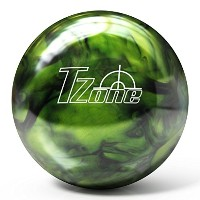 Brunswick t-zone pre-drilled Bowling ball- Green Envy