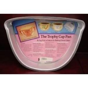 The Trophy Cup Cake Pan by Bakery Crafts Retired
