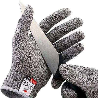 Cut Resistant Gloves,High Performance Level 5 Protection, Food Grade Kitchen Glove for Hand Safety...