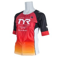 TYR(ティア) FRONT ZIPPER TRI SINGLET TWSG2-18S RD L