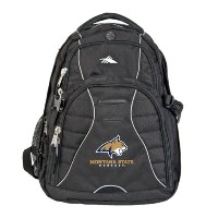 Montana State High Sierra Swerve Compuバックパック' BobcatヘッドW / Montana State Bobcats Stacked '