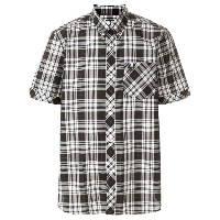 Fred Perry X Art Comes First plaid button down shirt - ホワイト