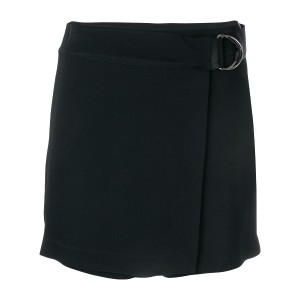 Federica Tosi belted wrap shorts - ブラック