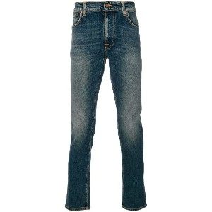 Nudie Jeans Co Lean Dean slim-fit jeans - ブルー