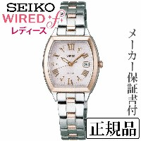 SEIKO ワイアード WIRED WIRED f 女性用 ソーラー アナログ 腕時計 正規品 1年保証書付 AGED076