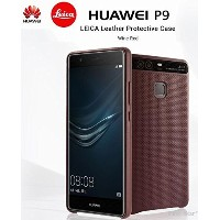 [Huawei純正] Huawei P9ケース ライカ レザーカバー オリジナル Original Leica Leather Cover Case Wine Red(ワインレッド)...
