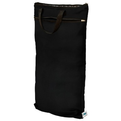 Planet Wise Hanging Wet/Dry Diaper Bag, Black by Planet Wise Inc. [並行輸入品]