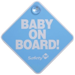 Safety 1st Baby On Board Sign, Blue by Dorel Juvenile Group [並行輸入品]