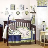 CoCaLo Moss - Four Piece Crib Set by CoCaLo