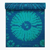 (ガイアム) Gaiam Print Premium Reversible Yoga Mat, 5mm (Reflection) [並行輸入品]
