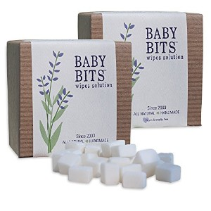Baby Bits Wipes Solution, 2 Pack - Makes 2,000 Natural Wipes by Baby Bits [並行輸入品]