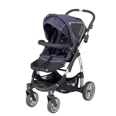 Kiddy Sport N Move Stroller, Blue/Black (Discontinued by Manufacturer) by Kiddy [並行輸入品]