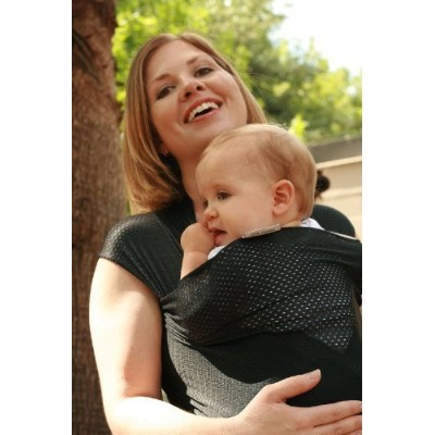 Beachfront Baby Water Wrap Baby Carrier - Black by Beachfront Baby [並行輸入品]