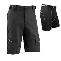 TennメンズOff Road / DH Shorts + Coolfloパッド入りボクサーコンボ