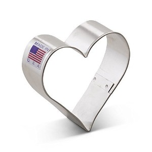 The American Cookie Cutter Company Heart Cookie Cutter by The American Cookie Cutter Co. [並行輸入品]