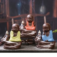 Buddhist Monk Incense Holders