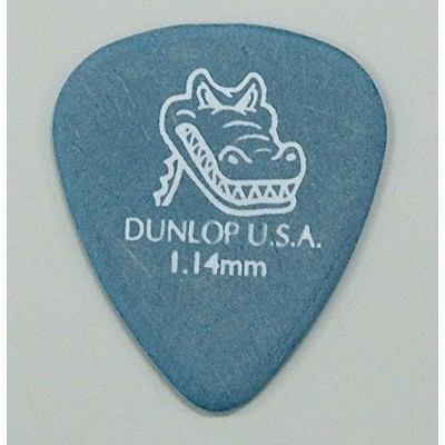JIM DUNLOP 417R GATOR GRIP STD BLUE 1.14 ギターピック×12枚