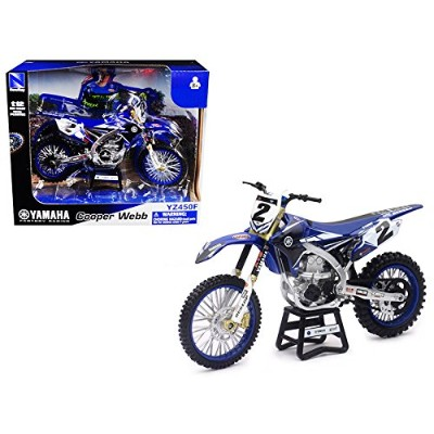 Yamaha Factory Racing yz450 F # 2クーパーWebb Motorcycle Model 1 / 12 by New Ray 57893