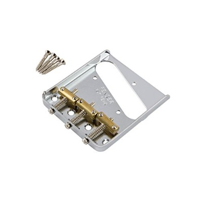 Fender パーツ 3-Saddle American Vintage Telecaster® Bridge Assembly with Brass Saddles