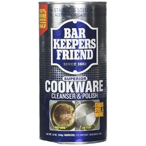 Servaas Lans Bar Keepers Friend Cookware Cleaner12 oz by HIC Harold Import Co.