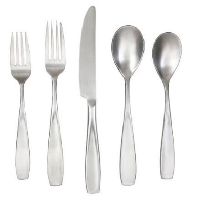 Durable Stainless Steel Flatware Set, 20 Piece, Silver by Cambridge