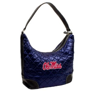 NCAA Ole Miss Rebels mississippi-ole Miss、チームカラーQuilted Hobo