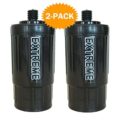 2 - Pack – 2 Seychelle Extreme Rad / Adv交換フィルターfor the Seychelle the 42ozサバイバルCanteen、38oz Canteen...
