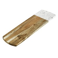 elfrhinoチーズボード万能大理石とAcacia Wood Pastry Board Cheese Board Servingボードトレイチーズサーバーチーズプレート五徳 ER-COle-NW