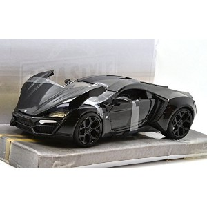 "JADA TOYS 1:24SCALE BIGTIME MUSCLE ""LYKAN HYPERSPORT""(BLACK) ジェイダトイズ 1:24スケール ビッグタイムマッスル 「ライカン..."