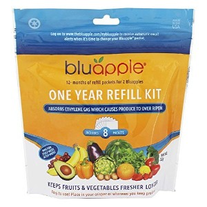 -Bluapple One Year Refill Kit (3 Packs of 8 total of 24) by BluApple