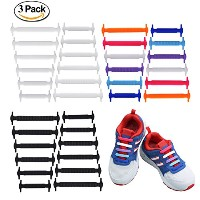 uniqhia no tie shoelaces for Kids–大人のマルチカラーファッションスポーツファンShoelaces–Fits mostタイプ靴–スニーカーブーツ...