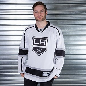 Los Angeles Kings 2011 – 12 Reebok Premier Replica Road NHL Hockey Jersey M