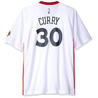NBA Golden State Warriors Stephen Curry # 30メンズレプリカジャージー ホワイト