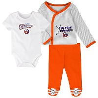 "NHL Layette新生児"" Future Champ "" 3piece Set ホワイト"